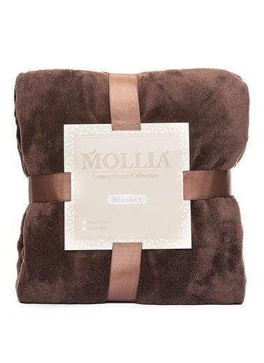 Mollia Soft Touch Tek Kişilik Battaniye Kahve